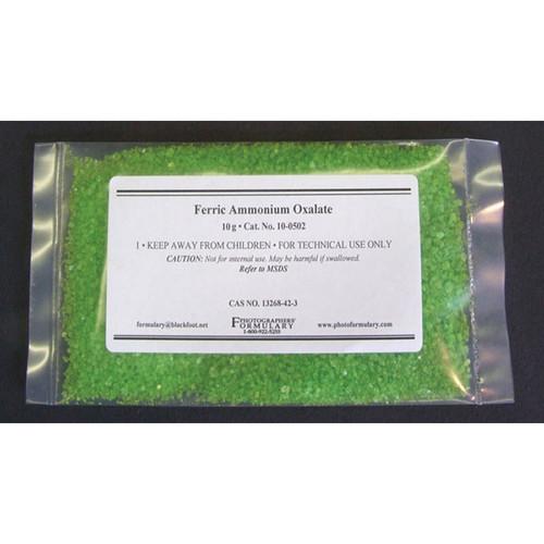Photographers' Formulary Ferric Ammonium Oxalate - 10 Grams