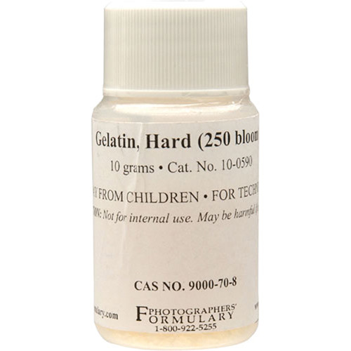 Photographers' Formulary Gelatin (Hard, 250 Bloom) - 10 Grams