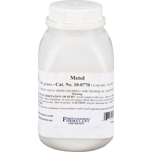 Photographers' Formulary Metol (Elon) - 100 Grams