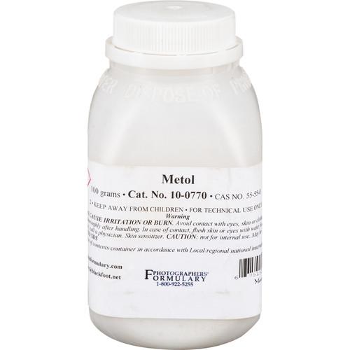 Photographers' Formulary Metol (Elon) - 100 Grams