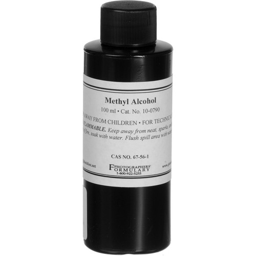 Photographers' Formulary Methyl Alcohol, 99% - 100ml