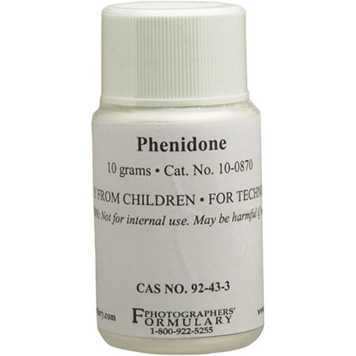 Photographers' Formulary Phenidone - 10 Grams