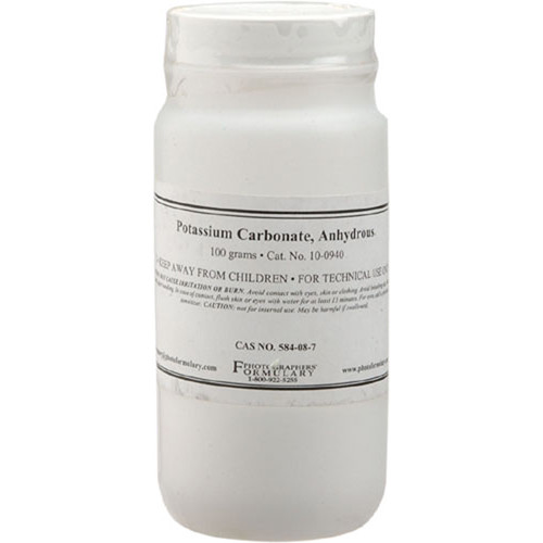 Photographers' Formulary Potassium Carbonate Anhydrous (100g)