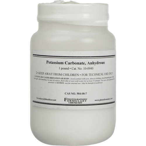 Photographers' Formulary Potassium Carbonate Anhydrous (1 lb)