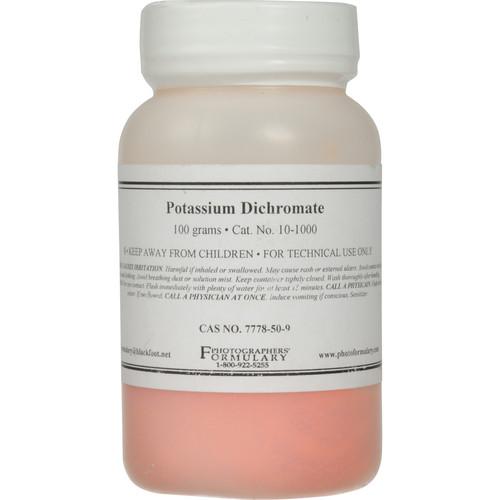 Photographers' Formulary Potassium Dichromate (Bichromate) - 100 Grams