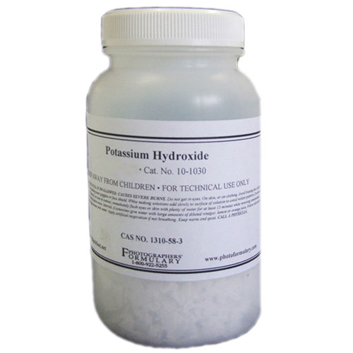 Photographers' Formulary Potassium Hydroxide - 30 grams