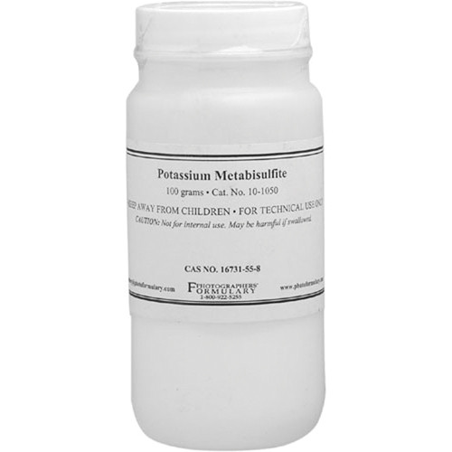 Photographers' Formulary Potassium Metabisulfite - 100 Grams