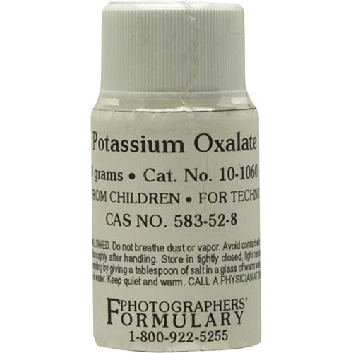 Photographers' Formulary Potassium Oxalate - 10 Grams