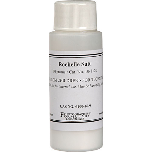 Photographers' Formulary Rochelle Salt (10g)