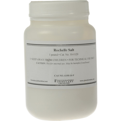 Photographers' Formulary Rochelle Salt (1 lb)