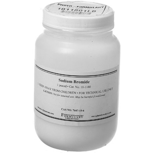Photographers' Formulary Sodium Bromide - 1 Lb.
