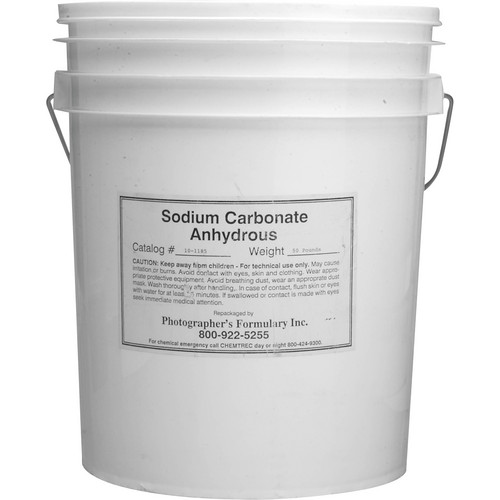 Photographers' Formulary Sodium Carbonate, Anhydrous - 50 Lbs.