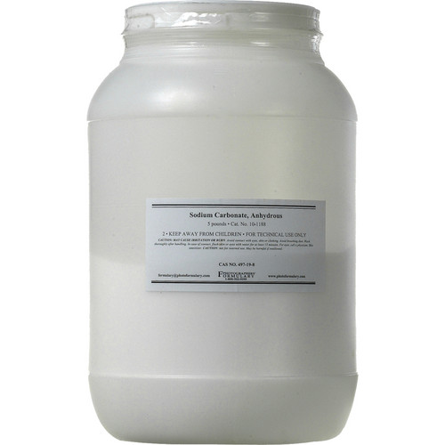 Photographers' Formulary Sodium Carbonate, Anhydrous - 5 Lbs.
