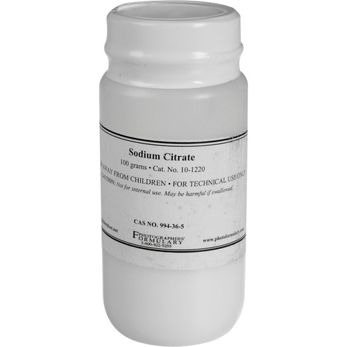 Photographers' Formulary Sodium Citrate - 100 Grams