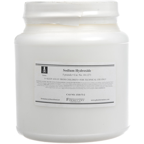 Photographers' Formulary Sodium Hydroxide (5 lb)
