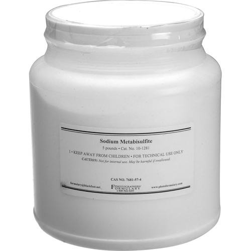 Photographers' Formulary Sodium Metabisulfite - 5 Lbs.