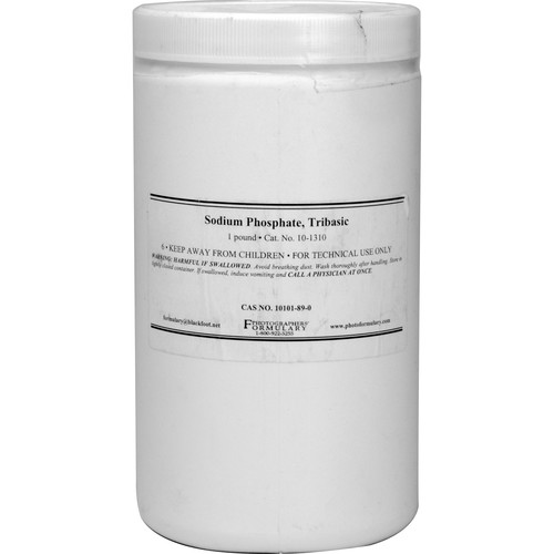 Photographers' Formulary Sodium Phosphate, Tribasic - 1 Lb.
