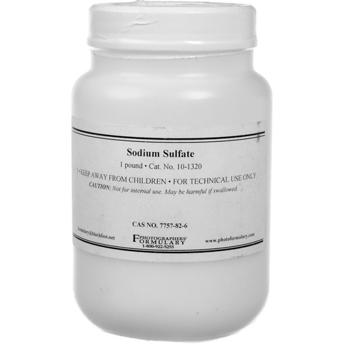 Photographers' Formulary Sodium Sulfate - 1 Lb.