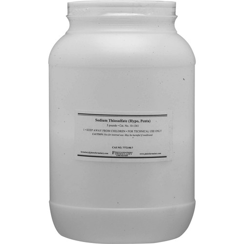 Photographers' Formulary Sodium Thiosulfate (Hypo) Penta (Prismatic Rice) - 5 lbs