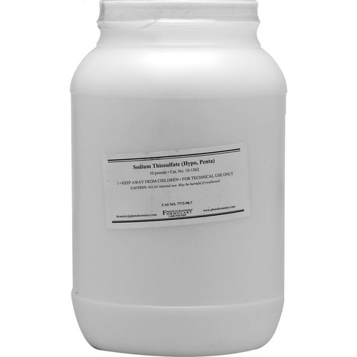Photographers' Formulary Sodium Thiosulfate (Hypo) Penta (Prismatic Rice) - 10  Lbs.