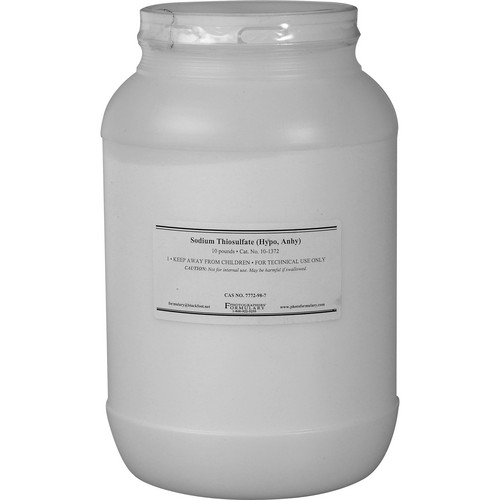 Photographers' Formulary Sodium Thiosulfate, Anhydrous - 10 Lbs.