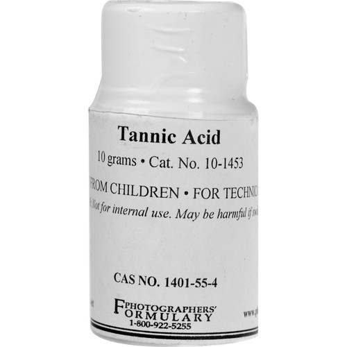 Photographers' Formulary Tannic Acid (10g)