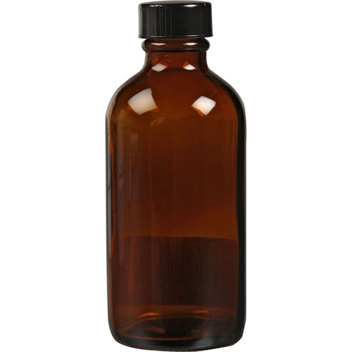 Photographers' Formulary Amber Glass Bottle with Narrow Mouth - 125ml