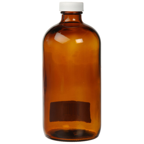 Photographers' Formulary Amber Glass Bottle with Narrow Mouth - 500ml