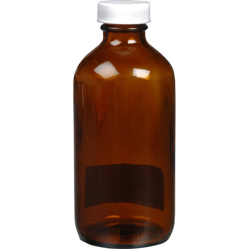 Photographers' Formulary Amber Glass Bottle with Narrow Mouth - 250ml