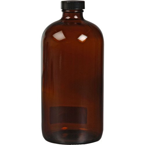Photographers' Formulary Amber Glass Bottle with Narrow Mouth (950mL)