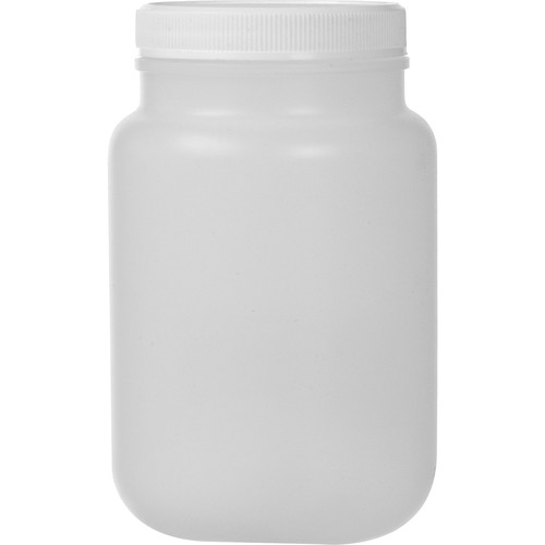 Photographers' Formulary Plastic Bottle with Wide Mouth - Natural - 500ml