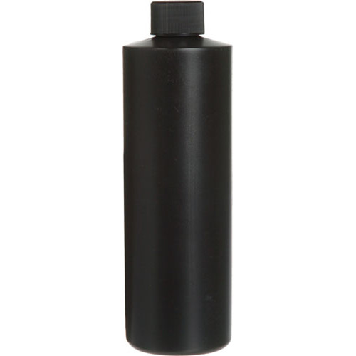 Photographers' Formulary Plastic Bottle with Narrow Mouth - Black - 125ml