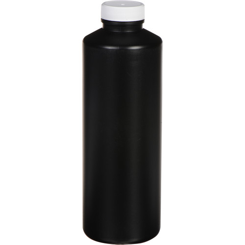 Photographers' Formulary Plastic Bottle with Narrow Mouth - 500ml - Black