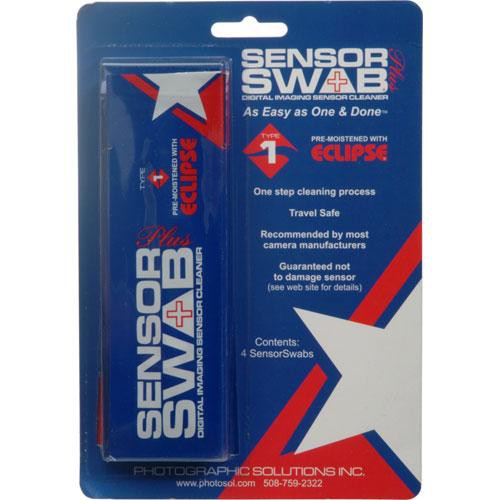 Photographic Solutions Sensor Swab Plus (Type 1, 4-Pack)