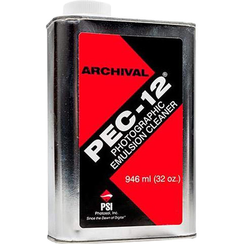 Photographic Solutions Pec-12 Photo Emulsion Cleaner for Color & B&W Film & Paper - 1 Quart