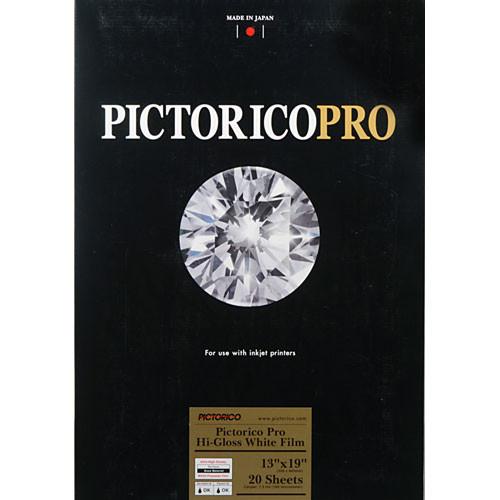 "Pictorico Pro Hi-Gloss White Film for Inkjet Printing (13 x 19"", Super-B)"