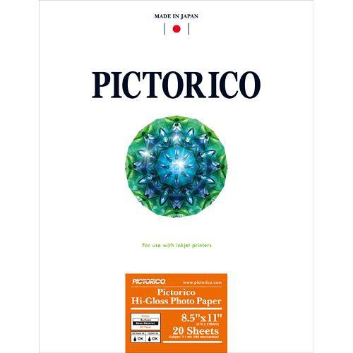 "Pictorico Hi-Gloss Photo Paper (8.5 x 11"", 20 Sheets)"