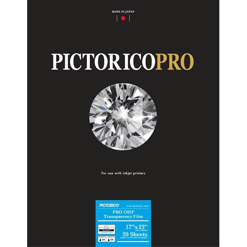 "Pictorico Pro Premium OHP Transparency Film (17 x 22"", 20 Sheets)"