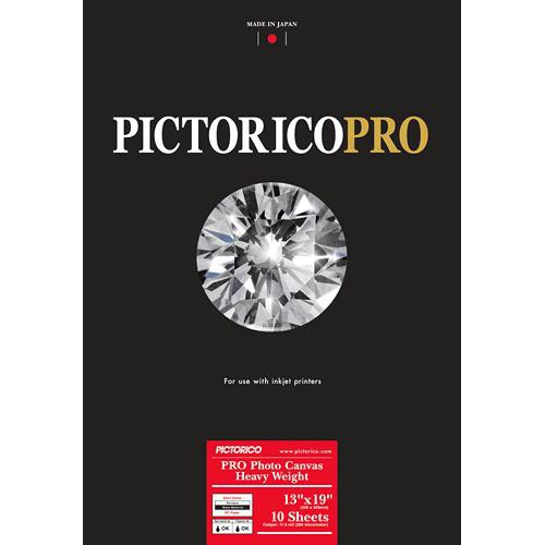 "Pictorico Pro Photo Canvas Heavy Weight (13 x 19"", 10 Sheets)"