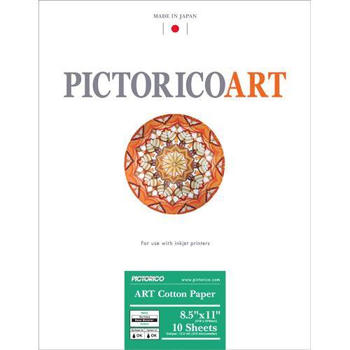"""Pictorico ART Cotton Paper (8.5 x 11"""", 10 Sheets)"""