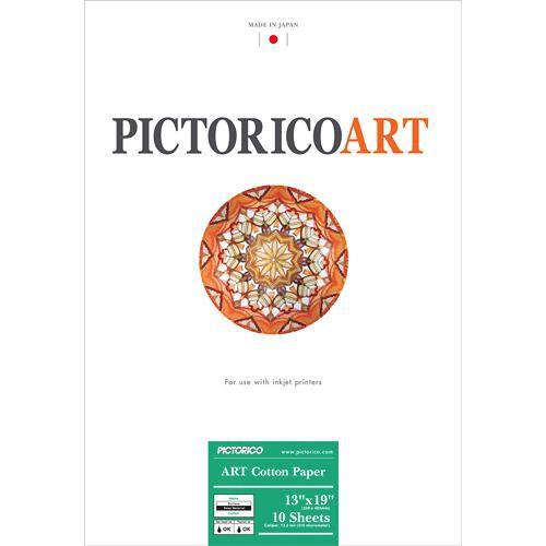 """Pictorico ART Cotton Paper (13 x 19"""", 10 Sheets)"""