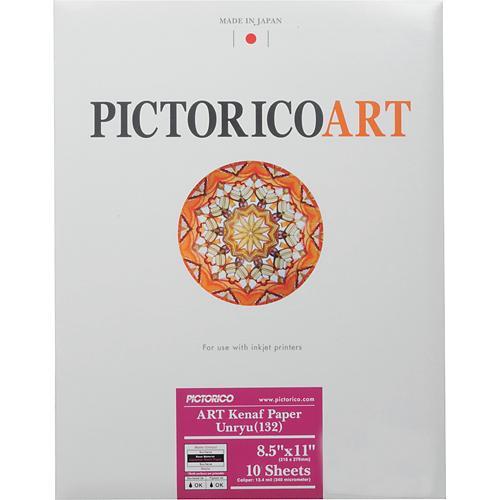 "Pictorico ART Kenaf Paper Unryu 132 (8.5 x 11"", 10 Sheets)"