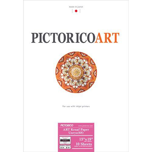 "Pictorico ART Kenaf Paper Unryu 68 (13 x 19"", 10 Sheets)"