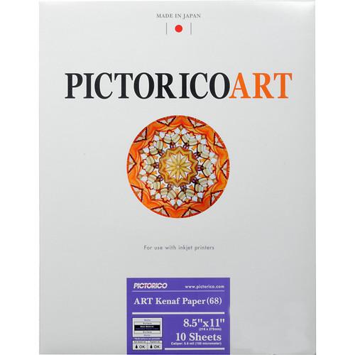 "Pictorico ART Kenaf Paper 68 (8.5 x 11"", 10 Sheets)"