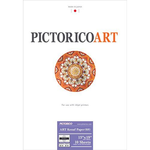 "Pictorico ART Kenaf Paper 68 (13 x 19"", 10 Sheets)"