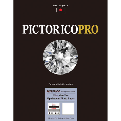 "Pictorico PRO Opalescent Photo Paper (8.5 x 11"", Letter, 216 x 279mm, 20 Sheets)"