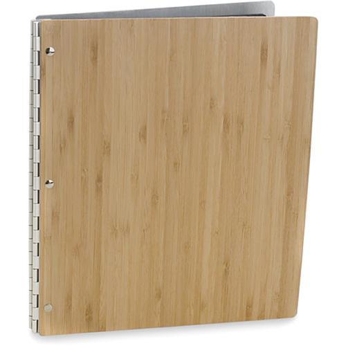 """Pina Zangaro 34618 Bamboo Screwpost Portfolio Cover ONLY (11 x 17"""", Amber)"""
