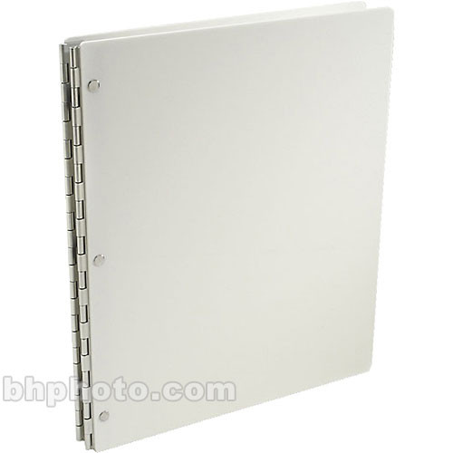 "Pina Zangaro Vista Screwpost Portfolio Cover ONLY - 11x8.5"" - Portrait Format  (Snow)"