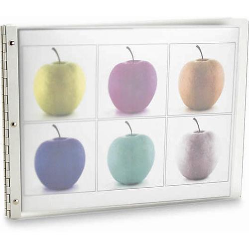 "Pina Zangaro 34872 Vista Presentation Book (11 x 14"", Mist)"
