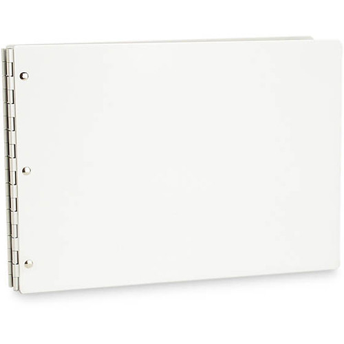"Pina Zangaro 34912 Vista Presentation Book (11.6 x 16.5"" (A3), Snow)"